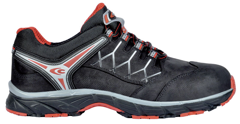 Scarpe antinfortunistiche COFRA - NEW RED EYE BLACK S3 SRC