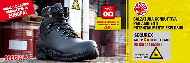 Scarpe antinfortunistiche COFRA - SECUREX