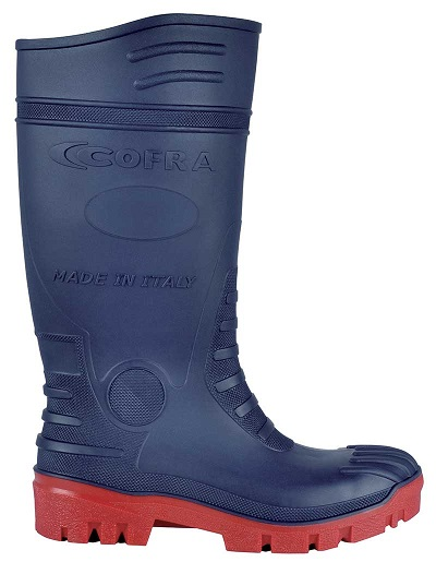 Scarpe antinfortunistiche COFRA - TYPHOON BLUE RED S5 SRC