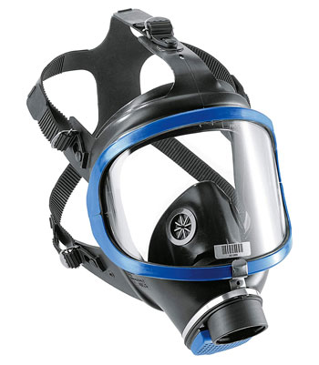 Maschera Antigas - Dräger X-plore 6300 Maschera piena copertura- acciale attacco filettato DIN-EN-148-1 - R55800